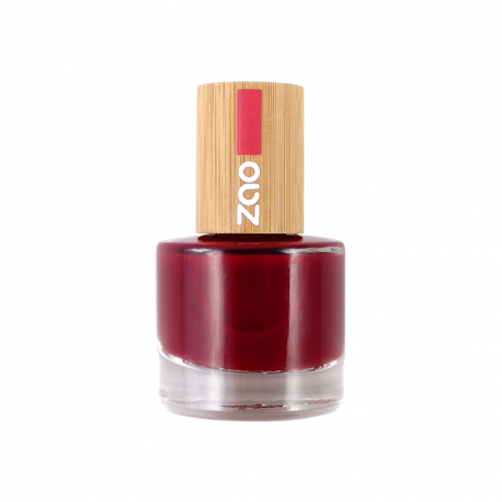Vernis à ongles 668 Rouge Bordeaux Zao Make Up