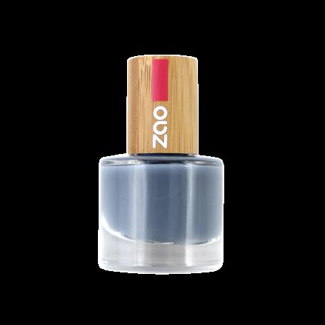 Vernis à ongles 670 Bleu gris Zao Make Up