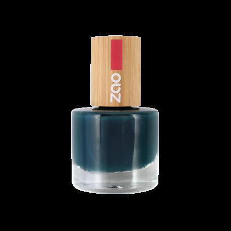 Vernis à ongles 666 Bleu Canard Zao Make Up