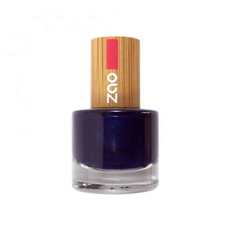 Vernis à ongles 663 Bleu Nuit Zao Make Up